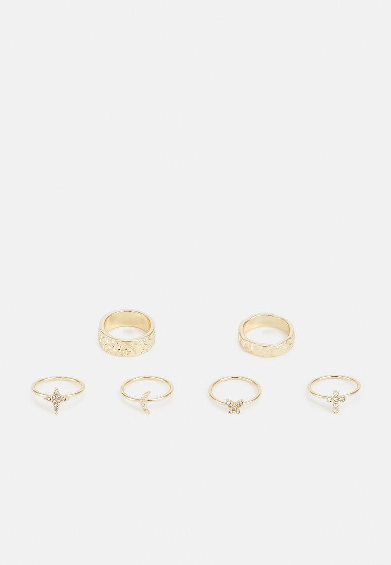Pieces - PCANIGHT 6 PACK - Ring - gold-coloured