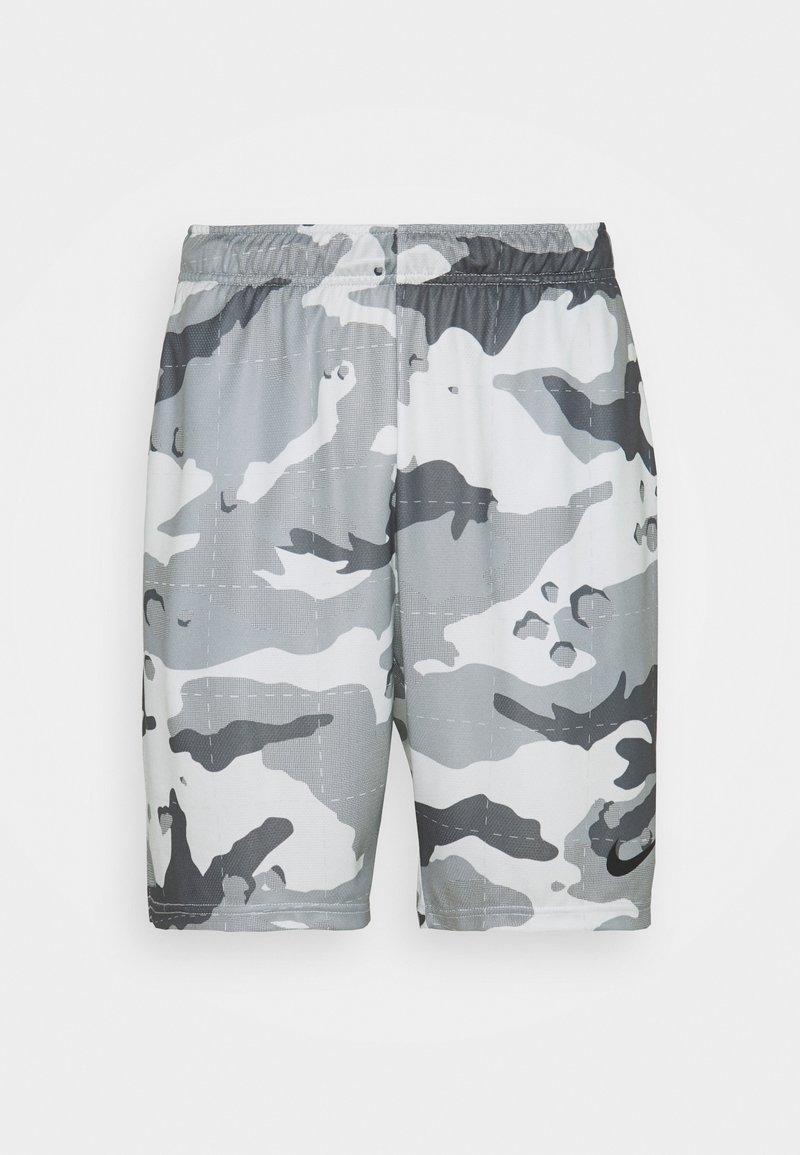 Nike Performance - CAMO SHORT - Krótkie spodenki sportowe - pure platinum/black
