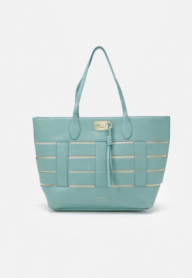 HANDBAG - Käsilaukku - turquoise