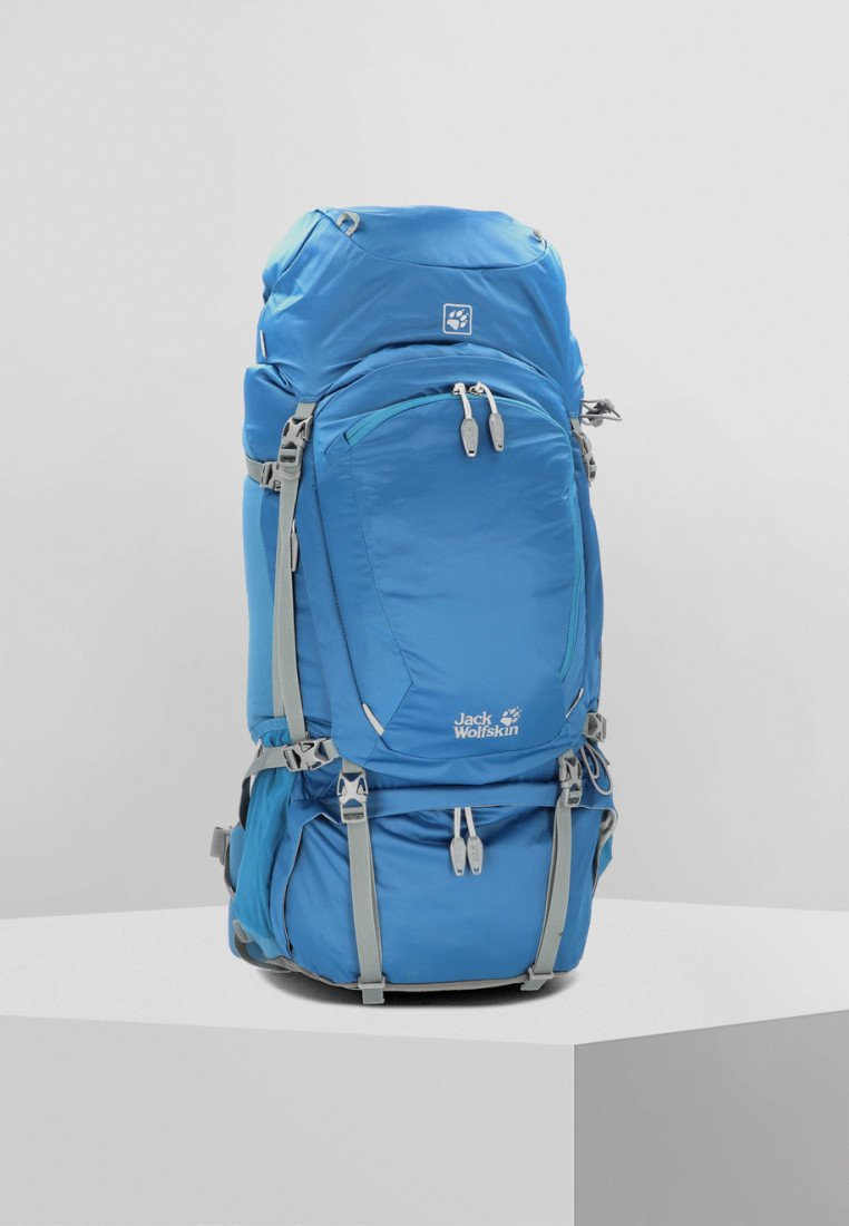 Jack Wolfskin - DENALI 65  - Hiking rucksack - poseidon blue