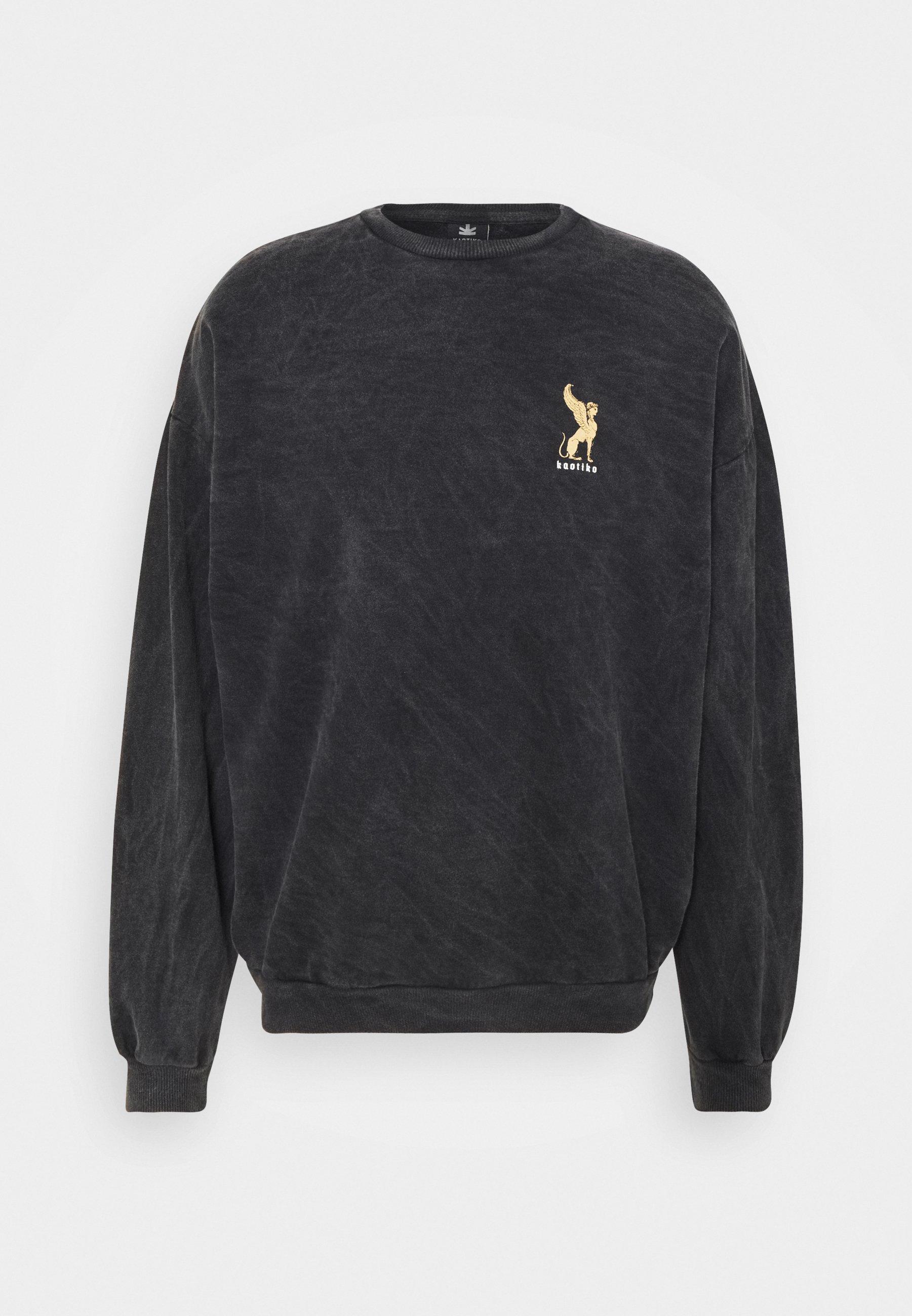 Homme CREW WASHED LION  - Sweatshirt