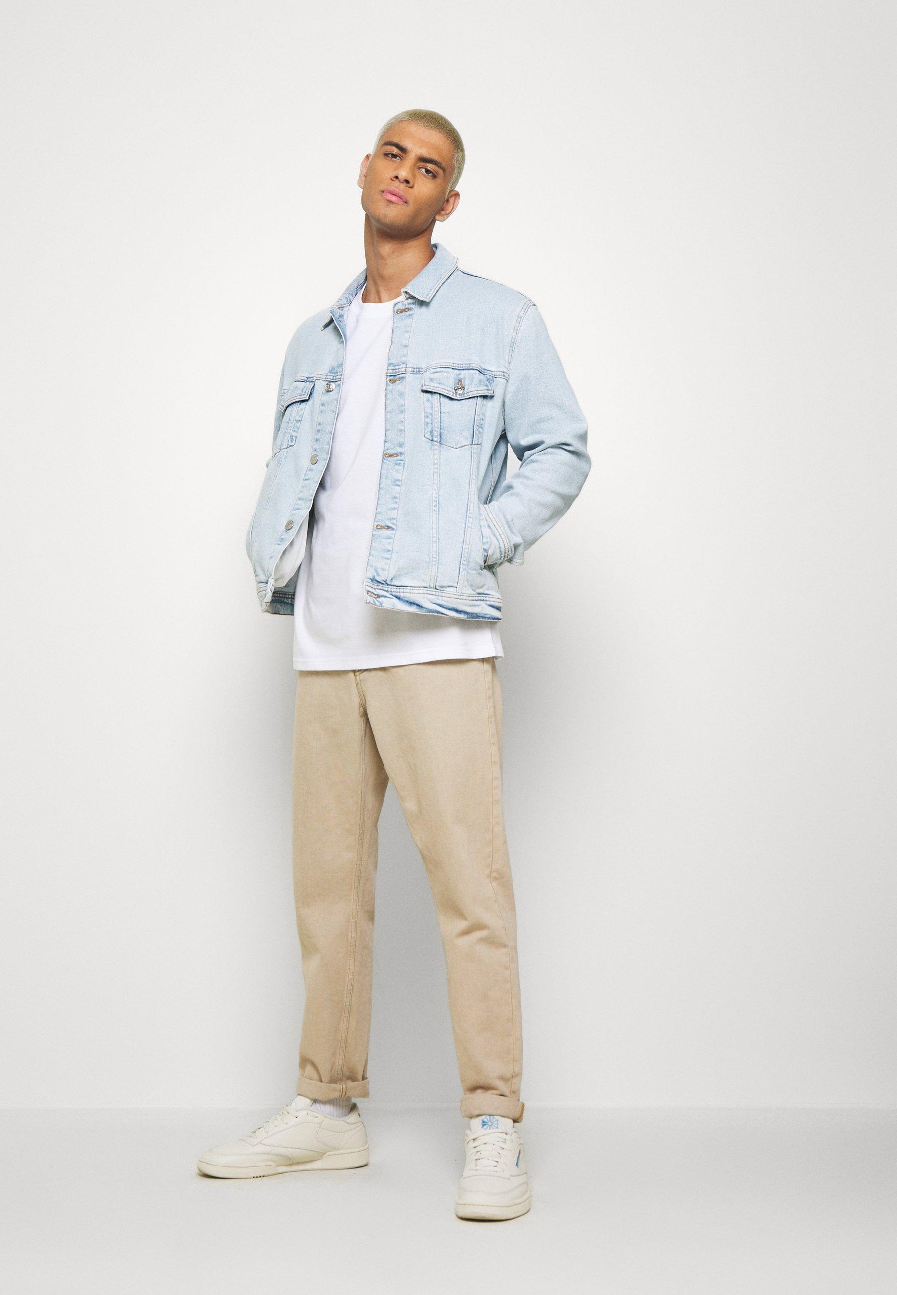 Denham CRANE TEE - T-shirt imprimé - bright white