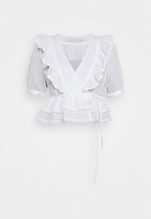 PCPRETTY - Blusa - cloud dancer