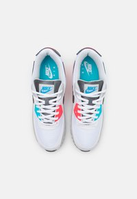 Nike Sportswear - AIR MAX 90 - Sneakers - white/iron grey/chlorine blue