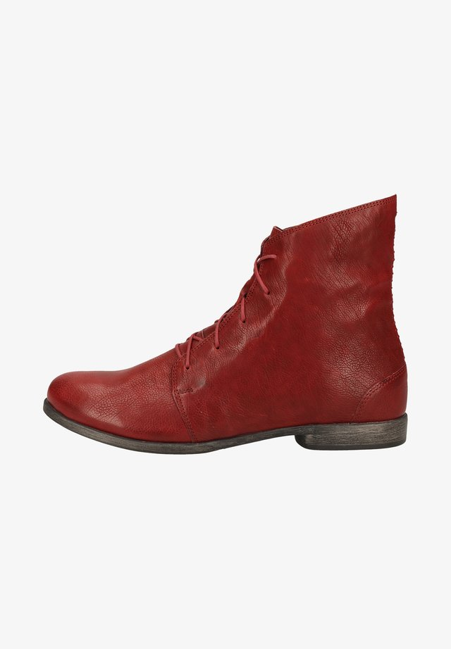 Lace-up ankle boots - barolo 5000