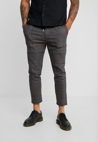 Only & Sons - ONSLINUS CHECK PANT  - Tygbyxor - griffin - 0