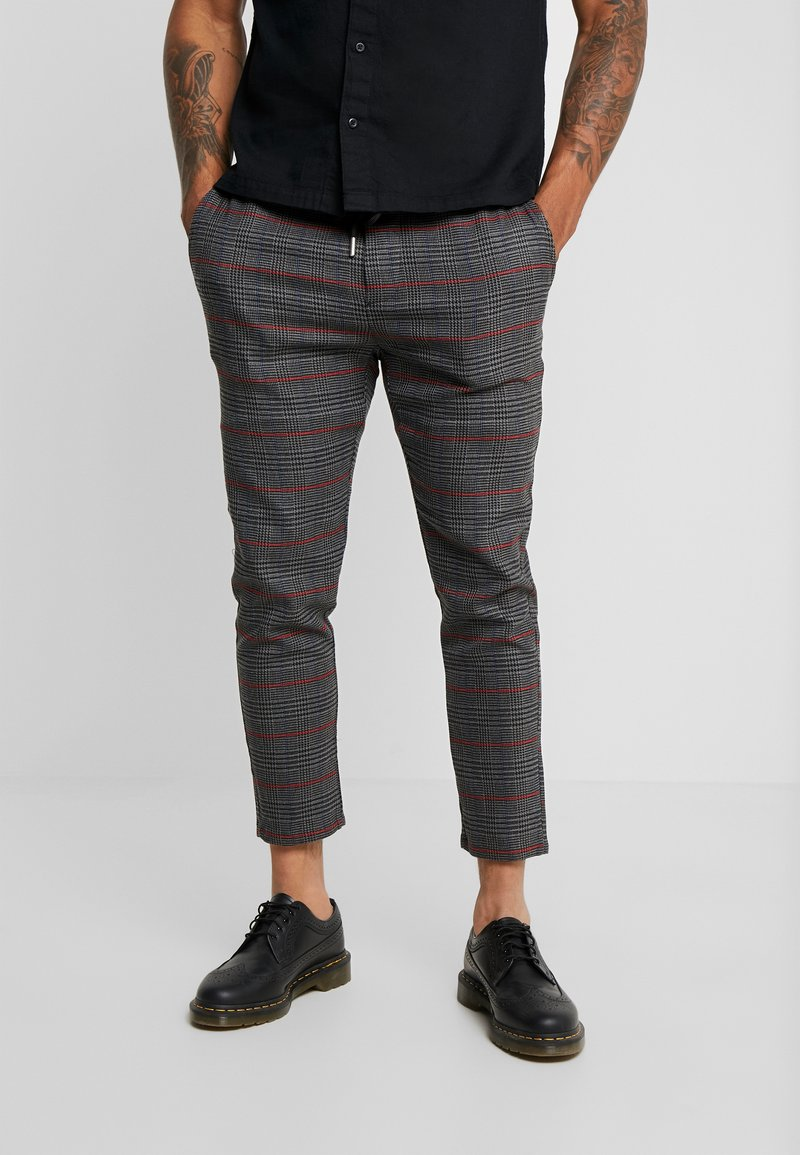 Only & Sons - ONSLINUS CHECK PANT  - Tygbyxor - griffin