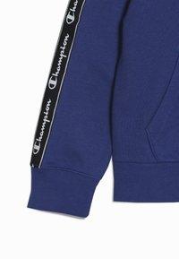 Champion - AMERICAN CLASSICS PIPING HOODED FULL ZIP - Mikina na zip - royal blue - 2