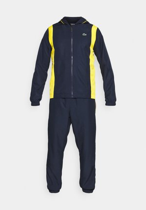 TRACKSUIT HOODED - Tracksuit - navy blue/broom white