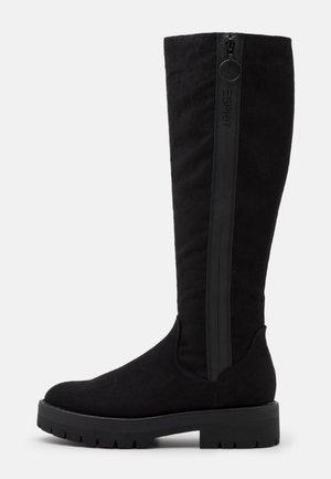 NAPOLI BOOT - Platåstøvler - black
