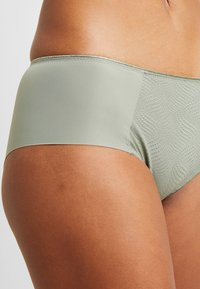 Triumph - ESSENTIAL MINIMIZER HIPSTER - Pants - moss green old - 4