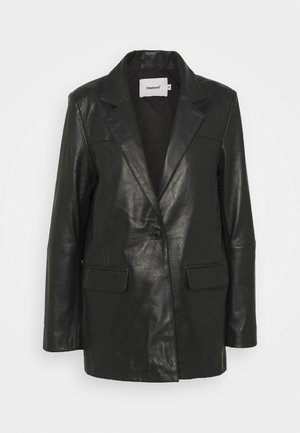 BROOKE  - Leather jacket - black