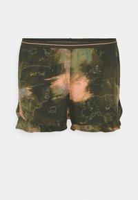 Hunkemöller - SHORT WORLD MAP - Pyjama bottoms - martine olive - 4