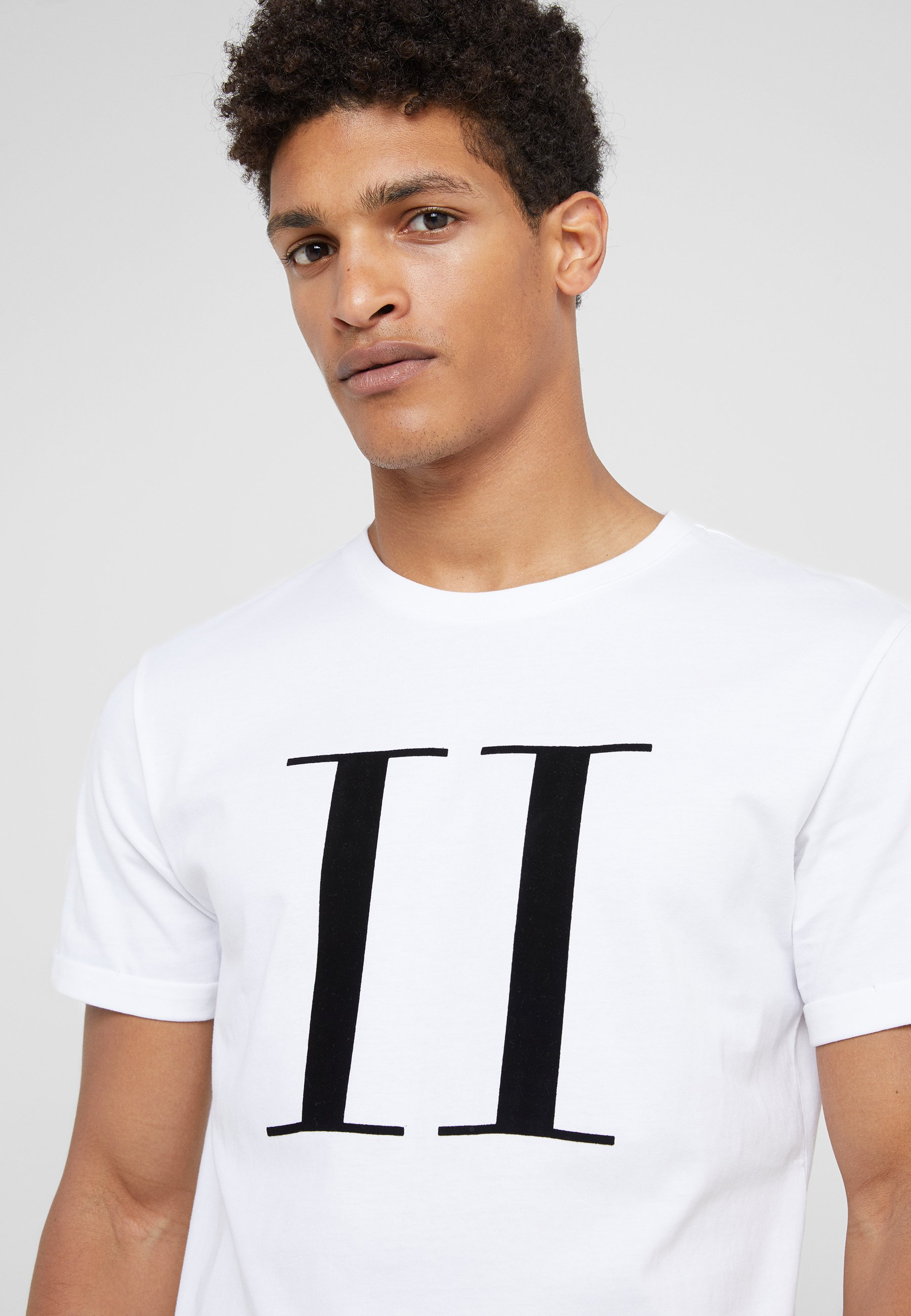 Les Deux Encore - T-shirts Med Print White/black/offwhite