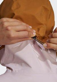 adidas Performance - TERREX MYSHELTER GORE TEX - Training jacket - pink - 8