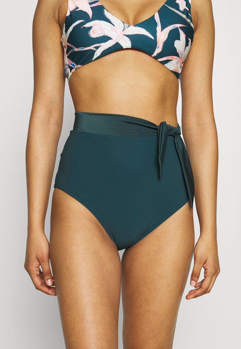 JETS Australia - HIGH WAIST PANT - Bikini bottoms - mediterranean