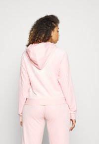 Juicy Couture - ANNIVERSARY CREST  HOODIE - Sweater met rits - almond blossom - 3