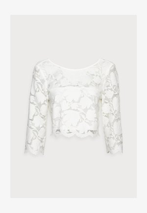 LACE SHIRT - Triko s potiskem - off white