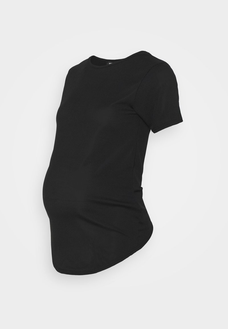 Missguided Maternity - CREW NECK - Basic T-shirt - black