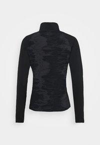 ZIP - Sports shirt - black/white