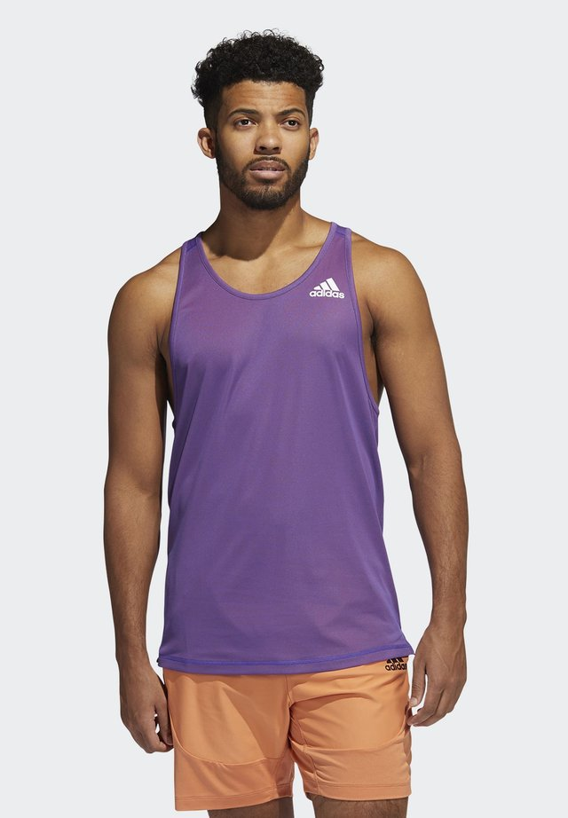 FOR THE OCEANS PRIMEBLUE TANK TOP - Top - purple