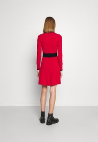 HUGO - SUMERY - Obleka/pulover - dark red - 2