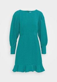 Closet - PEP HEM PENCIL DRESS - Shift dress - blue - 4