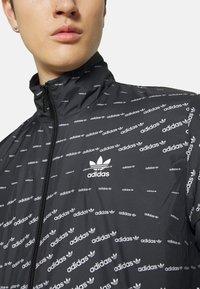adidas Originals - MONO  - Veste de survêtement - black/white - 5