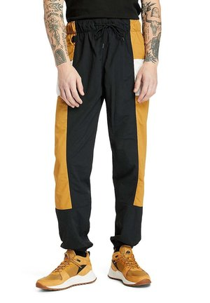 Outdoor trousers - black white sand wheat