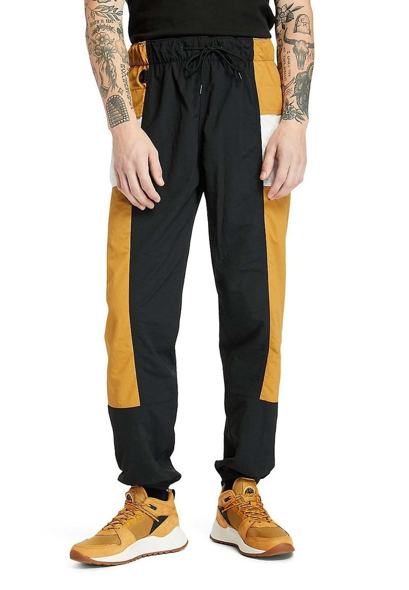 Timberland - Outdoor trousers - black white sand wheat