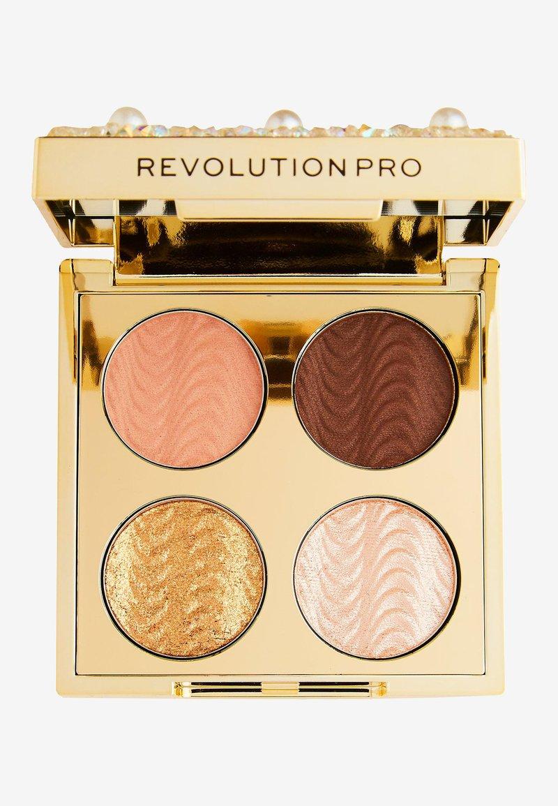 Revolution PRO - ULTIMATE EYE DIAMONDS AND PEARLS PALETTE - Eyeshadow palette - -