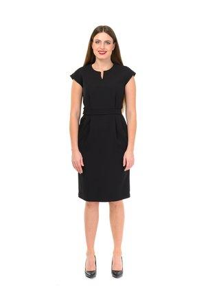 VALENCIA - Shift dress - black