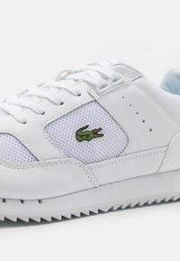 Lacoste - PARTNER PISTE - Sneakers - white - 5