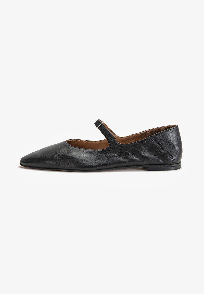 Inuovo - Ankle strap ballet pumps - black blk
