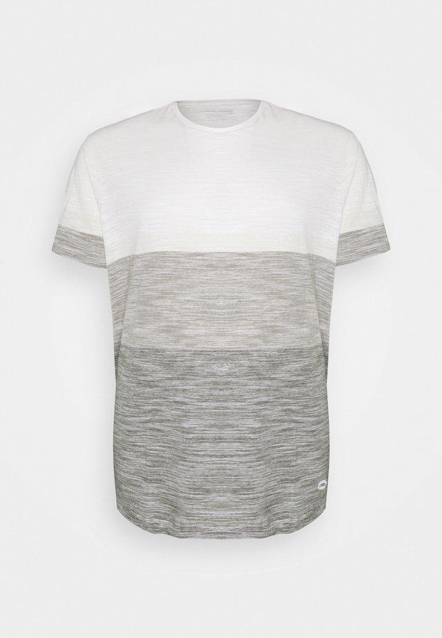 TEE - T-shirts print - egret