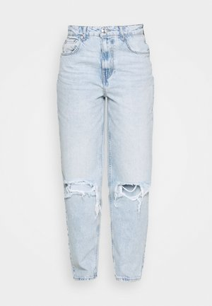 VINTAGE HIGH WAIST  - Relaxed fit jeans - light blue