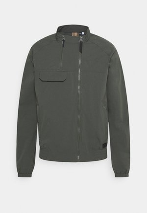 ALBERS - Vodotěsná bunda - dark green
