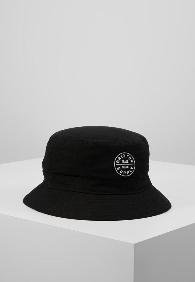 OATH BUCKET - Chapeau - black