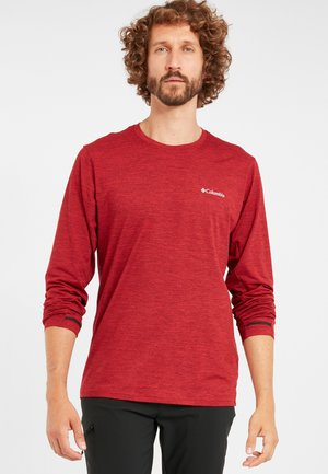 Tech Trail™ Long Sleeve Crew II - Sweatshirt - mountain red heather