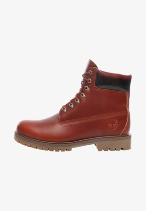 HERITAGE  - Lace-up ankle boots - brown
