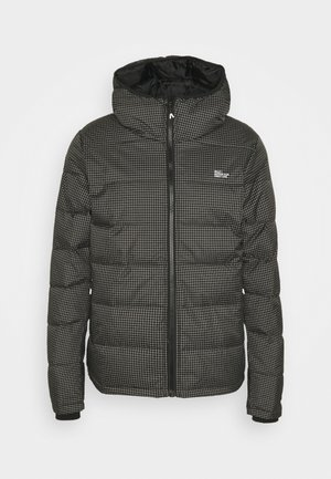 PUFFER JACKET - Lehká bunda - black