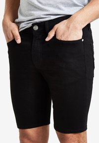 River Island - Denim shorts - black