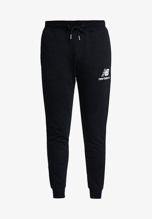 ESSENTIALS STACKED  - Pantaloni sportivi - black