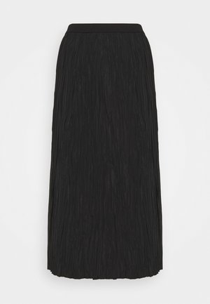 SKIRT - A-linjekjol - black dark