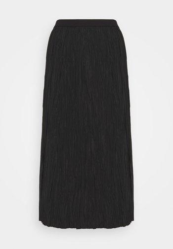 SKIRT - A-line skirt - black dark