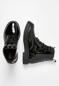 British Knights - Lace-up ankle boots - black shiny - 2