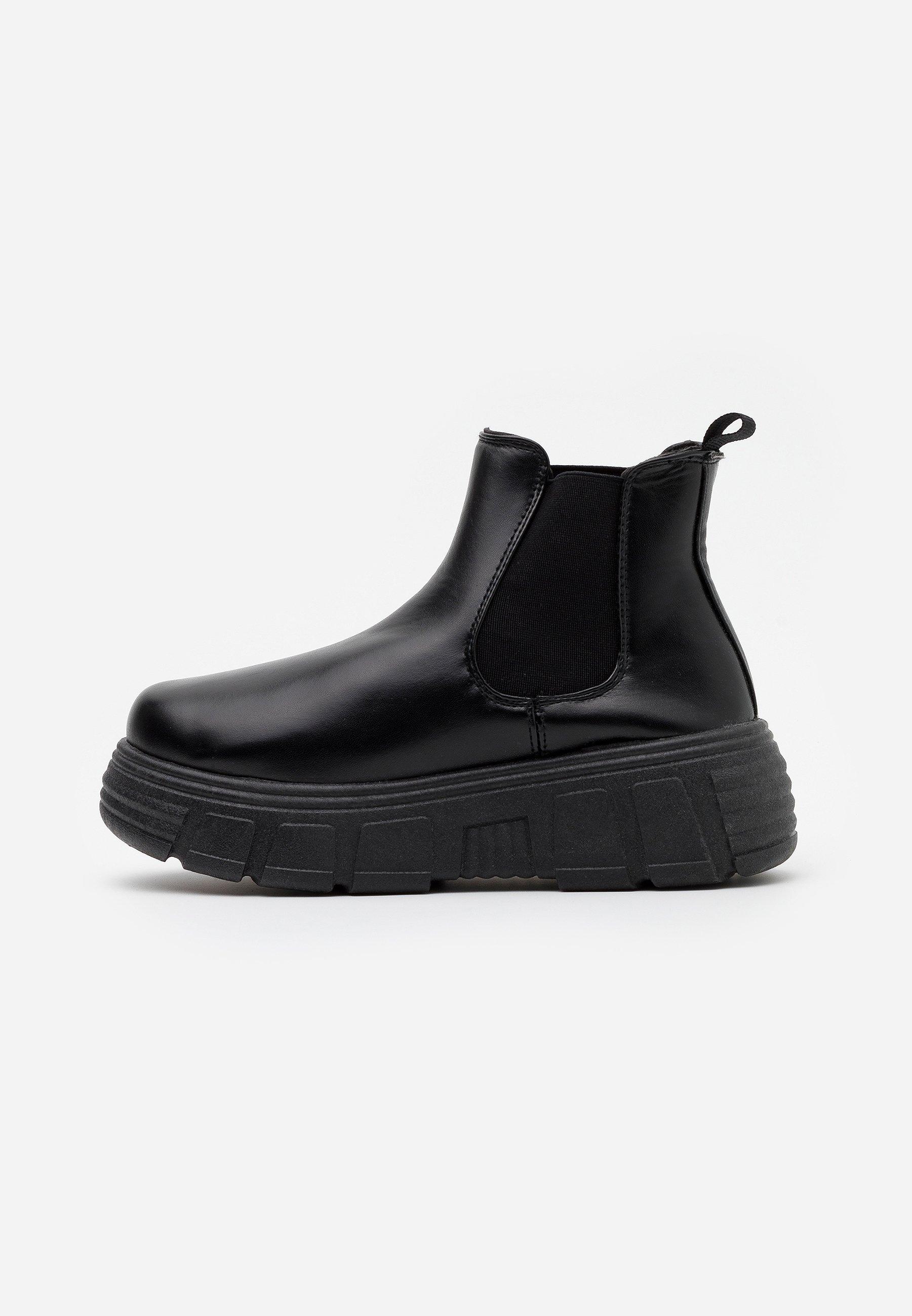 VEGAN CHELSEA Ankelboots black