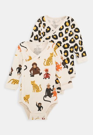 MONKEY STORY MONKEY LEOPARD 2 PACK - Body - light beige