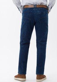BRAX - STYLE LUKE - Straight leg jeans - blue stone - 1