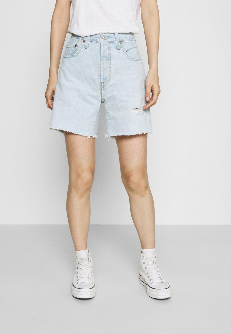 Levi's® - 501® MID THIGH SHORT - Denim shorts - luxor focus
